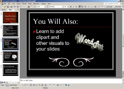 PowerPoint Screen Shot
